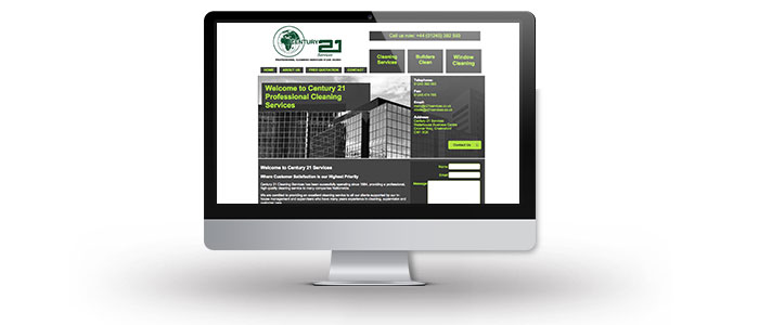 Century 21 Services Website