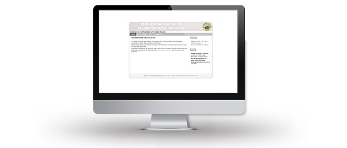 Chelmsford Neighbourhood Watch Website