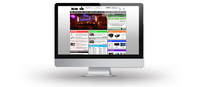 DJ Richie Don Modular Website