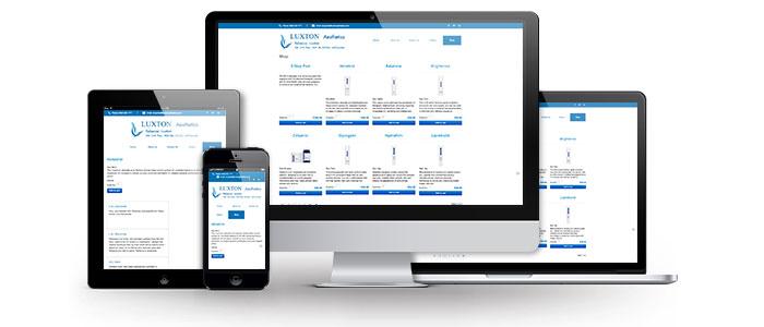Luxton Aesthetics Website