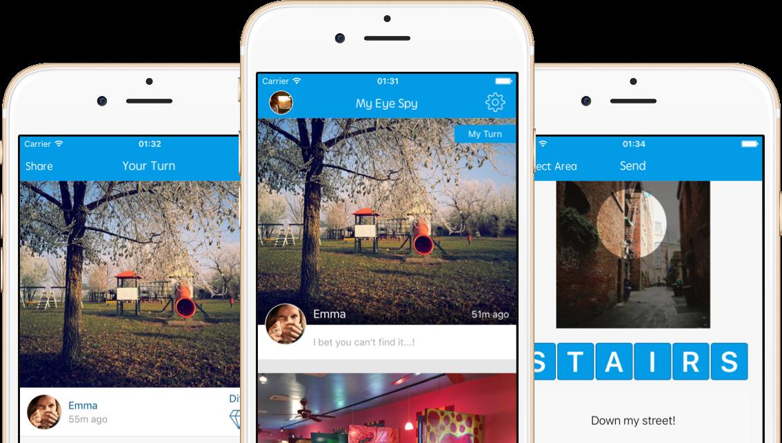 My Eye Spy – iOS App and Website