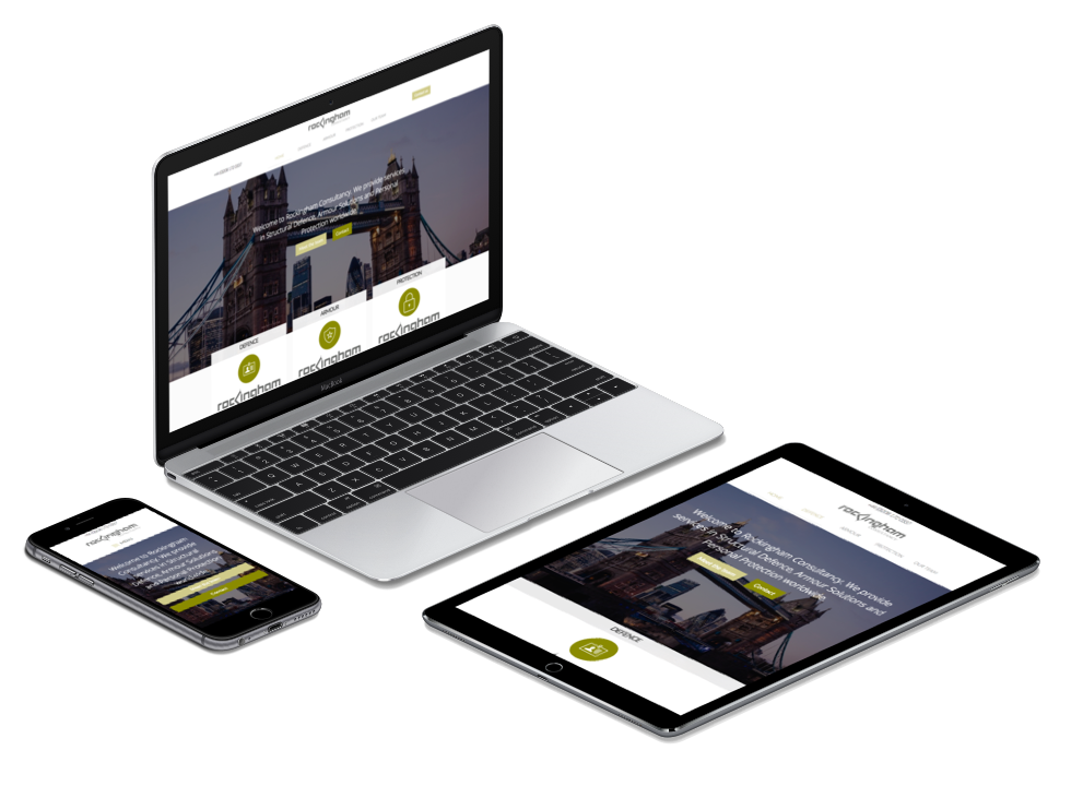 Rockingham Consultancy Responsive Website Build