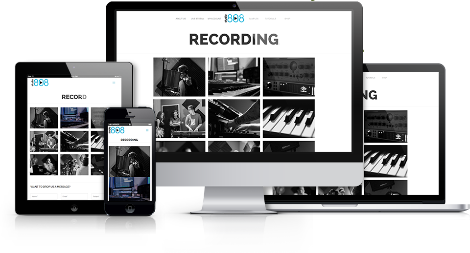 Studio808 Online Website